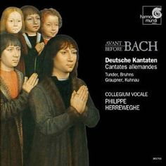 German Cantatas Before Bach / Herreweghe, Collegium Vocale ~ Collegium Vocale, http://www.amazon.com/dp/B0000509J8/ref=cm_sw_r_pi_dp_0-ZWqb0Q2Q2SD