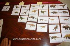 Quando i bambini adorano i dinosauri - Paperblog Names Of Dinosaurs, Montessori, Advent Calendar, Crafts For Kids, Preschool, Holiday Decor, 3, Play, Dinosaurs
