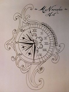 i want a Compass tattoo