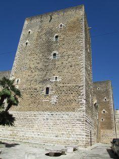 Gioia del Colle Norman castle, Puglia, Italy
