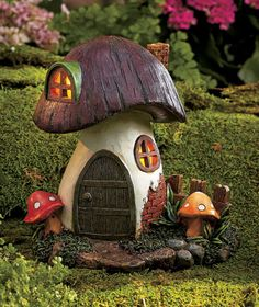 Solar Fairy and Gnome Homes