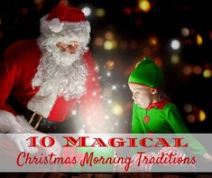 Everything about Christmas is magical in our home. I know that my girls childhoods will be over before I know it and they will be all grown up, so once a year I go all out to make the day extra special. Here are some of our magical Christmas morning traditions...