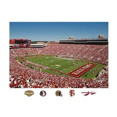NCAA Florida State Seminoles Bobby Bowden Field at Dusk Campbell Stadium Mural Wall Graphic -- Read more reviews of the product by visiting the link on the image.