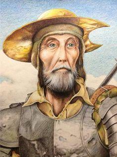 El blog de Fátima: Trabajando en el Quijote