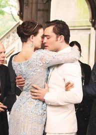 Blair and chuck!  Gossipgirl