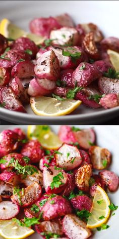 Roasted Radishes Recipe (Low-Carb, Keto) Easy roasted radishes recipe – make the best roasted radishes in the oven with minimal ingredients. Learn how to prepare, season, bake and serve radishes. Low calorie and low carb meal that is perfect for low-carb, Keto Side Dishes, Side Dish Recipes, Vegetable Recipes, Low Carb Recipes, Diet Recipes, Vegetarian Recipes, Cooking Recipes, Healthy Recipes, Cooking Vegetables