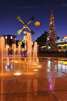 Christmas in Downtown Disney