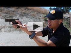 Top Shot Champion Chris Cheng demonstrates for beginners how to execute a proper trigger pull and introduces dry fire practice. Firearm instructors and exper. Shooting Sports, Shooting Range, Chris Cheng, Guns And Ammo, Lead Bullets, Fire Training, Reloading Bench, Tactical Training, Fire Drill