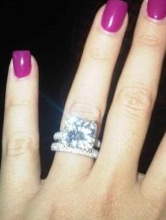khloe kardashians ring - Khloe Kardashian Wedding Ring