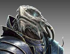 blue dragonborn d&d - Google Search