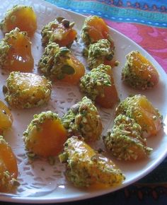 Apricots with Mascarpone and Pistachios - Healthy recipes with Fruits and Vegetables - http://chefrecipesmagazine.com/845/