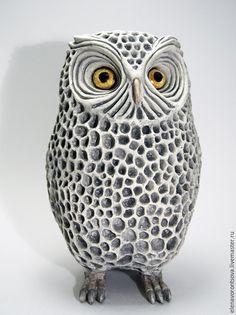 Керамическая статуэтка Филин #ceramics