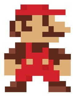 super mario bros pixels - Pesquisa Google
