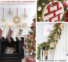nspired by a Scandinavian Christmas // Beautiful details and creative ideas at Inspired by Charm