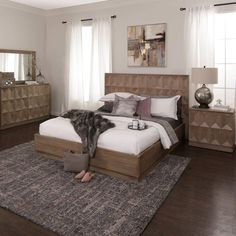 Do You Dream Of A Modern Bedroom E The Marquee Set Features Geometric