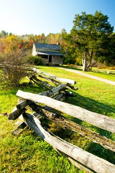 Time to enjoy Cades Cove! The fall months are so beautiful in the Smokies.