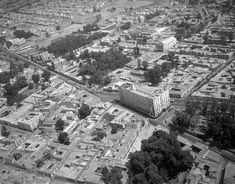 Una toma panorámica de la zona de Tacubaya en 1938. Una toma panorámica de la zona de Tacubaya en 1938.