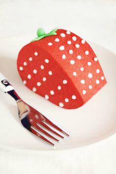 A homemade version of Paris's Ladurée Patisserie's La Fraise entremet cake, bursting with strawberry flavour!