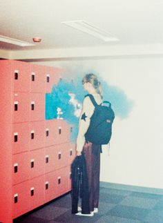 cloud, blue, smoke, concept, weird, locker, photographer