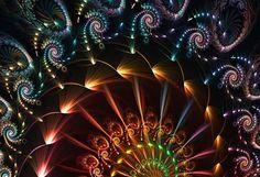 Cosmic Carnival - Morgan Chase. Fractal art.