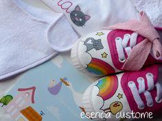 Esencia Custome: Zapatillas personalizadas - Custom sneakers