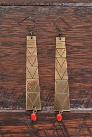 Dress up your favorite beachwear with these irresistible earrings. #beach #style
