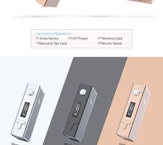 Ijoy ASOLO 200W Temperature Control BOX MOD ( Kangertech IPV Segelei Kamry Joyetech SMOK ) | elahiahsan22