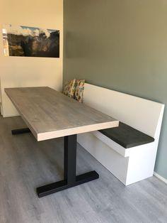 Furniture, Interior, Kitchen Remodel, Table, Home Decor, Dining Room Decor, Cafe Design, Home Diy, Interior Design
