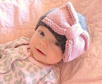 This basic baby hat pattern is one I have used for years. As I was searching for something new to make my new baby, I couldn't find the perfect hat, so I returned to the same old hat I always make--tried and true. I wanted to make the pattern available for everyone to enjoy in honor of my new little baby--Sadie Lynn.
