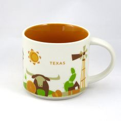 Starbucks You Are Here Collection Beijing China Ceramic Coffee Mug New With Box