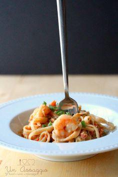 Shrimp Pad Thai | Easy Weeknight Recipe | Un Assaggio of Food, Wine & Marriage