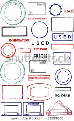 Find Blank Editable Vector Graphic Passport Stamps stock images in HD and millions of other royalty-free stock photos, illustrations and vectors in the Shutterstock collection. Passport Template, Passport Stamps, Ink Tatoo, Travel Party, Art And Craft, White Stock Image, Travel Themes, Travel Scrapbook, Fantasy