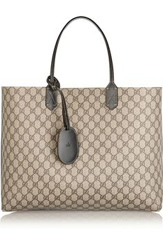 Gucci | Turnaround large reversible bonded leather tote | NET-A-PORTER.COM