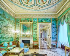 Blue Drawing Room. Catherine Palace. Pushkin, Russia, 2014