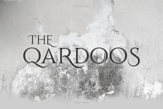 Buy Qardoos Decorative Serif Typeface by TamaCreative on GraphicRiver. Qardoos is a display serif typeface. It includes multi-lingual and currency support, numerals, and punctuation. Vector Design, Logo Design, Modern Serif Fonts, Serif Typeface, Banner Design, Design Elements, Lettering, Punctuation
