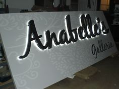 http://www.facebook.com/pages/Signs-by-Bryan/173287596030159 , reverse channel letters, channel letter sign