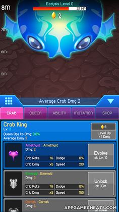Crab War Cheats & Hack for Gold & Pearls  #Action #Adventure #CrabWar http://appgamecheats.com/crab-war-cheats-tips-hack/