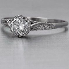 Antique engagement ring--love. by savannah