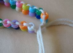 Simple bead craft for kids conference