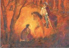 Herbst - Postkarte Jahreszeitentisch Drescher St. Martin - ein Designerstück von Barbarillia bei DaWanda