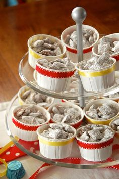 Puppy Chow for a Clifford the Big Red Dog Party