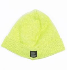 B-side BEANIE B-LABEL FLORESCENCE GREEN £35.00