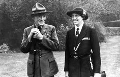 Boy Scouts and Girl Guides, Founders, Baden-Powells, Lord and Lady Olave