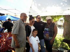 With the Riveras - Monster Car and Bike Fest. - Rancho Cucamonga, CA