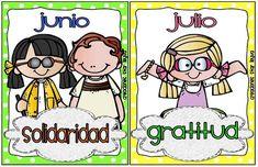 Los valores por cada mes (Star Leyva) ~ Educación Preescolar, la revista