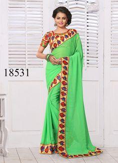 Sari Wedding Indian Dress Pakistani Saree Ethnic Bollywood Partywear Designer #TanishiFashion #DesignerSareeSari