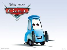 Disney/Pixar Cars Characters: Guido (ISO Isetta)