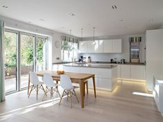 Kitchen ideas; open plan