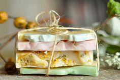 Soap Stack  Vegan Soap Sample Soap Variety by LingerBathAndBody, $6.50