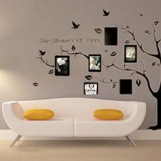 Vinilo Decorativo Pegatina Decorativa Adhesivo con tema Planta Pared Pintura poner fotos en pared